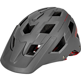 BBB Nanga BHE-54 Fietshelm, matte grey/red